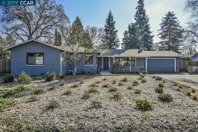 Concord Single Family Home For Sale: 1920 Whitman Rd