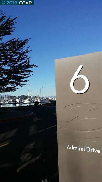 Emeryville Condo/Townhouse For Sale: 6 Admiral Dr #A492