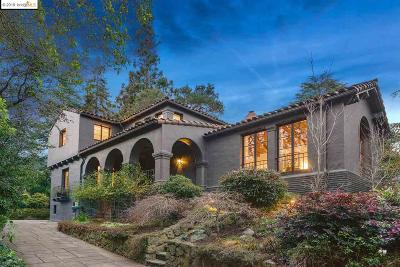 Oakland Single Family Home For Sale: 1216 Sunnyhills Rd
