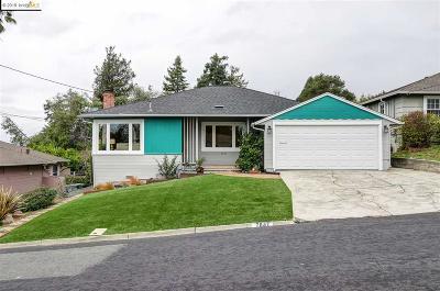 El Cerrito Single Family Home For Sale: 7847 Eureka Ave