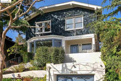 Oakland Single Family Home For Sale: 5876 Ocean View Dr