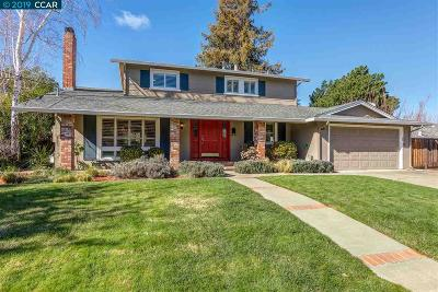 Walnut Creek Single Family Home Pending Show For Backups: 943 Meander Dr