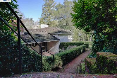 Orinda Single Family Home Pending Show For Backups: 9 La Noria