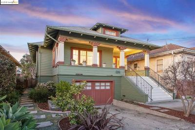 Oakland Single Family Home For Sale: 414 44th St