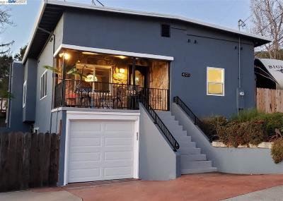 Oakland Single Family Home For Sale: 4125 Kuhnle Ave