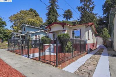 Oakland Single Family Home For Sale: 2324 Harrington Ave