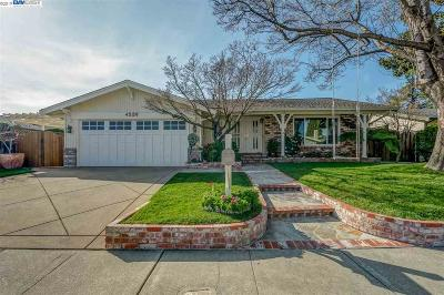 Pleasanton Single Family Home For Sale: 4526 Carver Ct