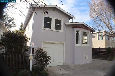 Berkeley Single Family Home For Sale: 1814 Chestnut Street