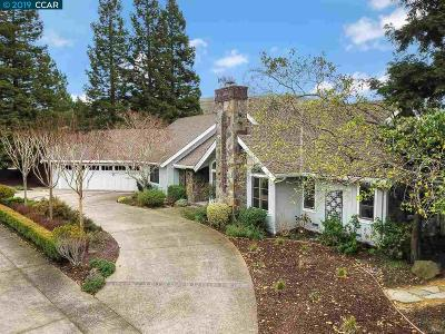 Moraga Single Family Home Pending Show For Backups: 54 Sanders Ranch Rd