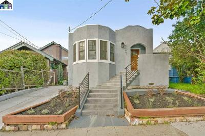 Berkeley Single Family Home For Sale: 1607 Channing Way