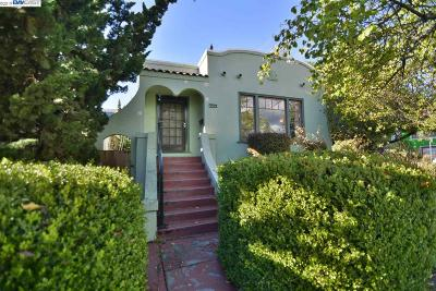 Oakland Single Family Home For Sale: 3533 Bruce St