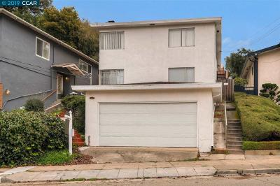 Oakland Single Family Home For Sale: 3308 Wisconsin St