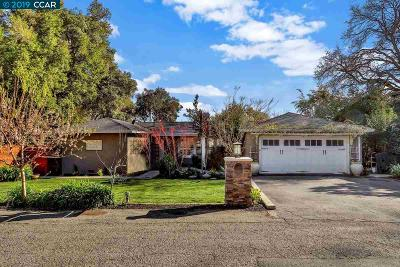Lafayette CA Single Family Home Pending Show For Backups: $1,295,000