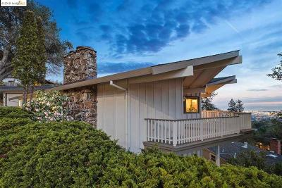 Oakland Single Family Home For Sale: 3223 Joaquin Miller Rd