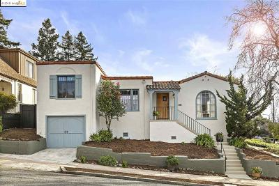 Berkeley Single Family Home For Sale: 2026 Eunice St