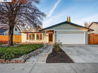 Livermore Single Family Home Pending Show For Backups: 502 Humboldt Way