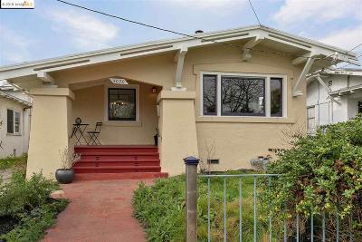 Berkeley Single Family Home For Sale: 3020 Dohr St