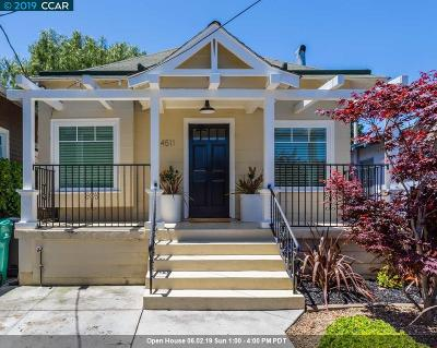 Oakland Single Family Home For Sale: 4511 Market St