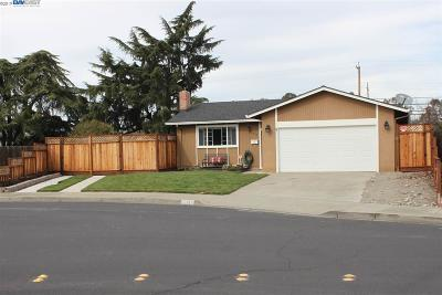 Livermore Single Family Home Pending Show For Backups: 312 Robert Way