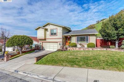 Hayward Single Family Home Pending Show For Backups: 3430 Eureka Ct