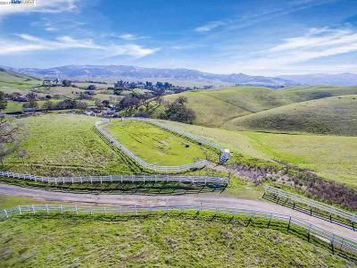 Sunol Residential Lots & Land For Sale: 3333 Little Valley Rd. Lot C