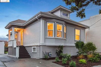 Oakland CA Single Family Home New: $998,000