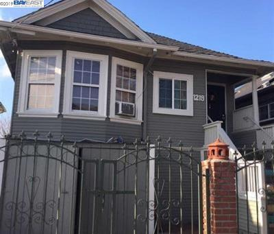 Oakland Single Family Home New: 1219 41st Ave