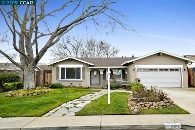 San Ramon Single Family Home Pending Show For Backups: 9819 Davona Drive
