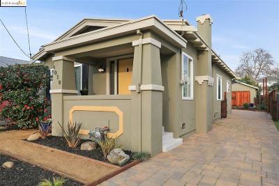 Berkeley Single Family Home For Sale: 1639 10th Streeet