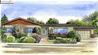 El Cerrito Single Family Home New: 726 Pomona Ave