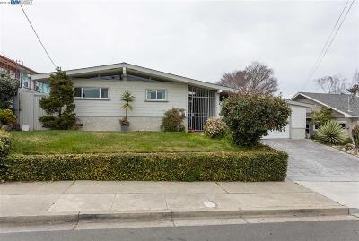 Castro Valley Single Family Home New: 18488 Clifton Way