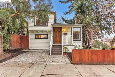 Oakland Single Family Home For Sale: 5859 Occidental St