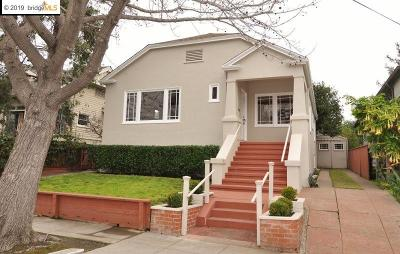 Oakland Single Family Home New: 6526 Tremont St
