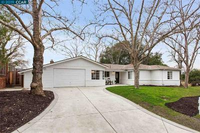 Walnut Creek Single Family Home For Sale: 2121 Hillview Dr