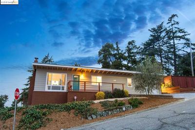 Oakland Single Family Home For Sale: 3303 Oak Knoll Blvd
