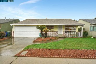 San Leandro Single Family Home New: 1682 Hickory Avenue