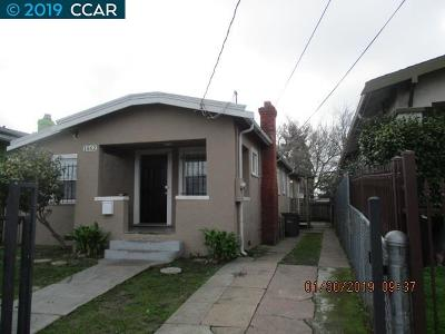Oakland Single Family Home New: 1562 79th Ave
