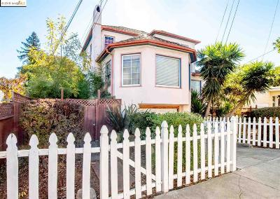 Oakland Single Family Home New: 2678 Grande Vista Ave