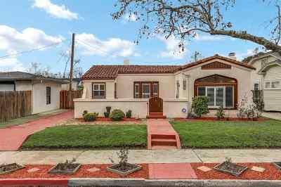 Stockton Single Family Home Price Change: 1821 Concord