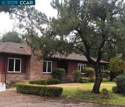 Walnut Creek Single Family Home Pending Show Backups-Reo: 60 Santa Rita Drive