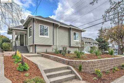 Oakland Single Family Home New: 3802 Randolph Ave