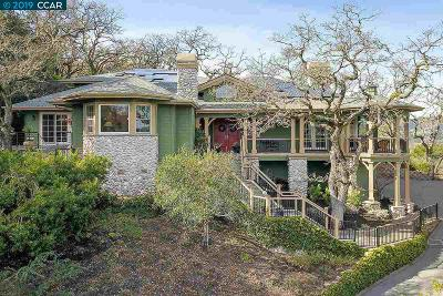 Lafayette CA Single Family Home New: $3,395,000