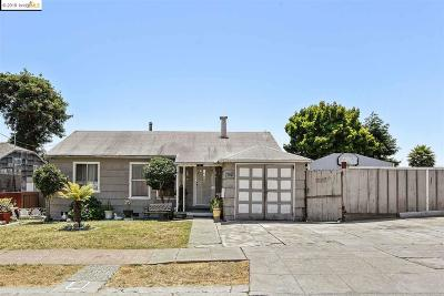 Richmond Single Family Home New: 1441 Merced St