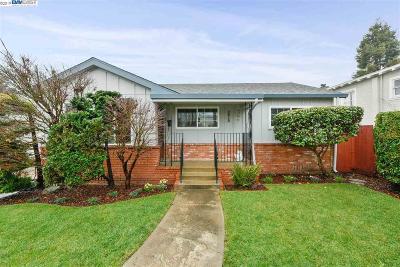 Alameda CA Single Family Home New: $949,000