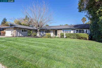 Walnut Creek CA Single Family Home New: $1,075,000