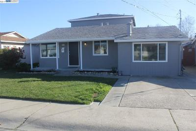 San Leandro Single Family Home New: 15388 Edgemoor St