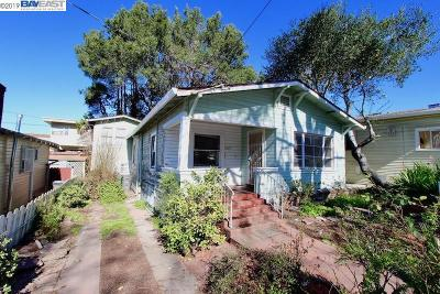 Oakland Single Family Home New: 2425 Harrington Ave