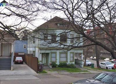 Oakland Multi Family Home New: 193 W Macarthur Blvd