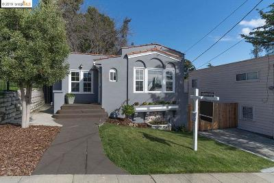 Oakland CA Single Family Home New: $599,000