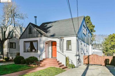 Berkeley Single Family Home New: 1337 Sacramento St
